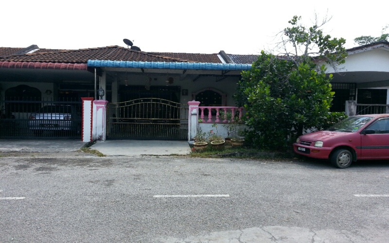 Auction: Single Storey Terrace House Simpang Ampat Penang