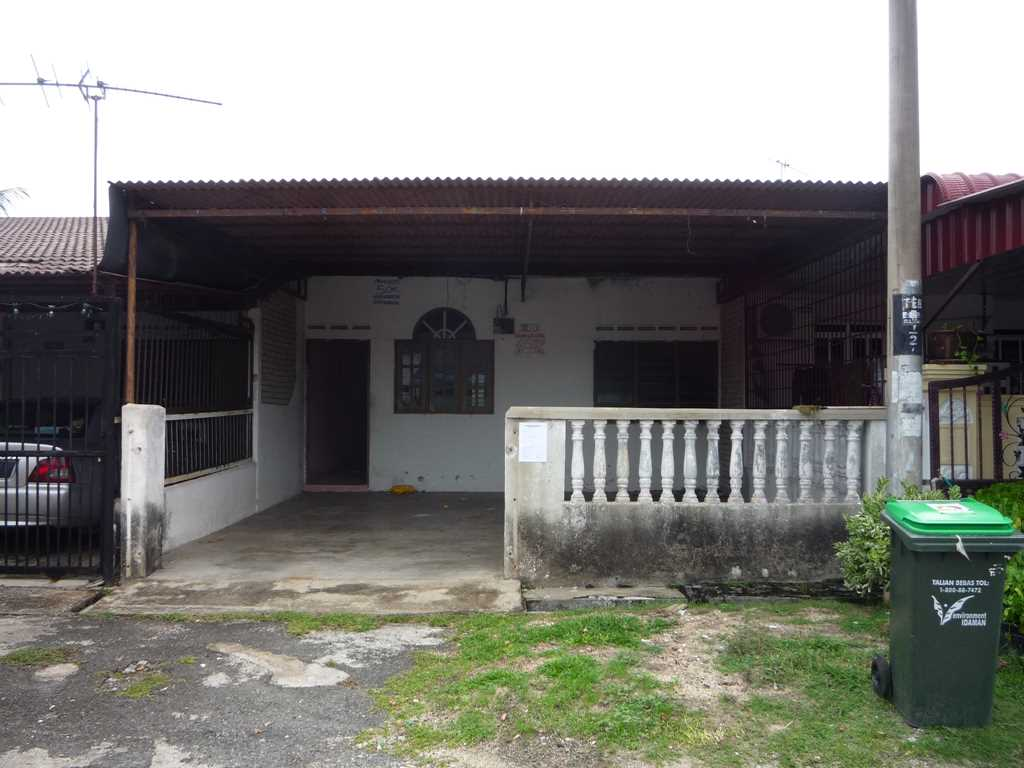 Auction Rumah Teres Kos Rendah Satu Tingkat Unit Tengah Taman Emas Bedong Kedah
