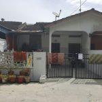 Auction: Rumah Teres Satu Tingkat kos-sederhana (unit tengah), Taman Nesa, Selama,  Perak