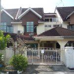 Auction: A Double Storey Terraced House (intermediate unit), Lebuh Nipah 4, Sungai Nibong, Penang