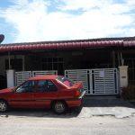 Auction: Rumah Teres Satu Tingkat kos-rendah (unit tengah), Taman Keladi, Sungai Petani, Kedah