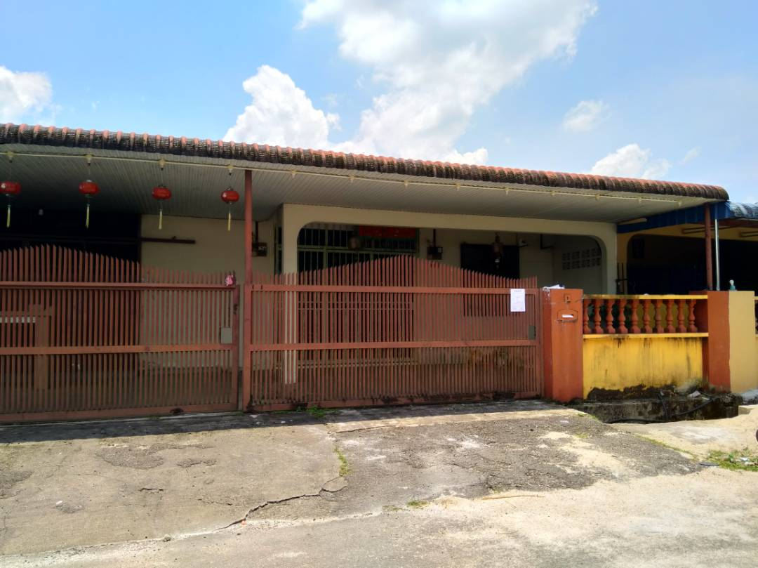 Auction Rumah Teres Kos Rendah Satu Tingkat Corner Unit Taman Tiong Kulim Kedah